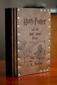 leather covered harry potter books