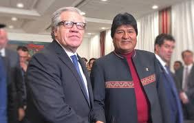 Bolivia y OEA firman acuerdo sobre observadores para las ...