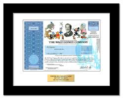disney stock as a gift one share