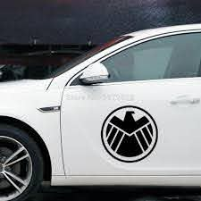 New The Agents Of Shield Decoration Stickers Fuel Tanks Decal Car Whole Body Decals For Bmw Benz Audi Fiat Toyota Honda Tesla For Bmw Agents Of Shield Stickerdecals Car Aliexpress