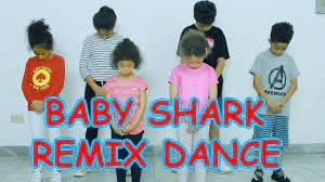 BABY SHARK REMIX KIDS DANCE | Baby shark, Kids dance, Dance