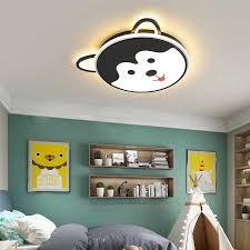 Dog Animal Ceiling Light Baby Room Girl Lamp Childrens Lamp Kids Room Light Bedroom Ceiling Light Boy Room Lighting Led Dimmable Aliexpress