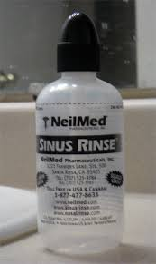 sinus rinse nasal irrigation