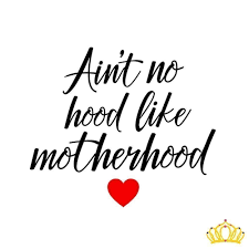 Amazon Com Ain T No Hood Like Motherhood Mom Quote Decal For Cup Tumbler Car Or Laptop 3 25 Inches Black And Red Handmade