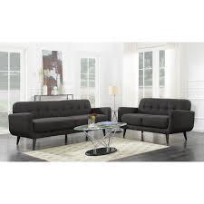 hadley sofa and loveseat set charcoal