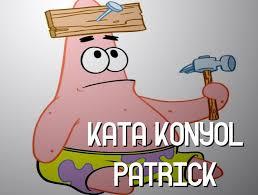 kumpulan kata konyol dari patrick di film spongebob squarepants cog