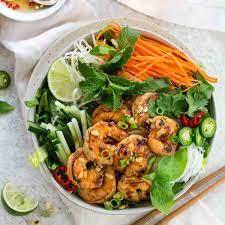 Vietnamese Shrimp Salad with Noodles ...