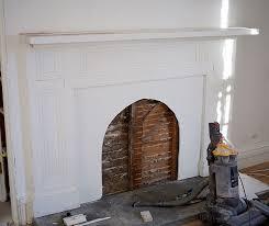 building the faux fireplace daniel