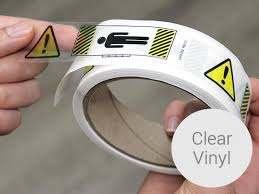 Clear Vinyl Stickers Clear Vinyl Sticker Printing Clear Vinyl Decal