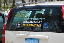 Salt Water New England Question For The Community Car Sticker Etiquette