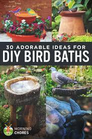 30 Adorable Diy Bird Bath Ideas That Are Easy And Fun To Build