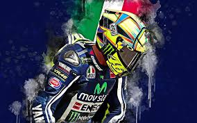 wallpapers valentino rossi 4k