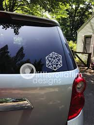 D20 Game Die Vinyl Decal Gift Gift For Her Gift For Him Etsy Vinyl Decals Nautical Gifts Handmade Shop
