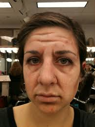how to do se makeup to look old