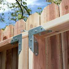 Simpson Strong Tie Rta 16 Gauge Zmax Galvanized Rigid Tie Angle For 2x Nominal Joist Post Rta2z The Home Depot Wood Fence Design Fence Design Driveway Gate Diy