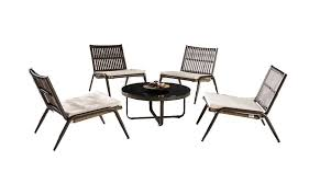 outdoor low seating set