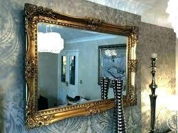 inspiring antique wall mirror large