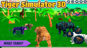 🐅Tiger Simulator 3D- By CyberGoldfinch ...