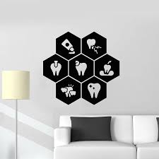 Teeth Vinyl Wall Sticker Dentist Clinic Healthy Toothpaste Dental Care Wall Decal Window Decoration Honeycomb Art Mural Decor Removable Decals For Walls Removable Kids Wall Decals From Onlinegame 12 57 Dhgate Com