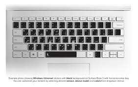 Arabic Keyboard Stickers Customized For Your Mac Or Pc Keyshorts