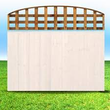 Bow Trellis Tops Ainsley Fencing