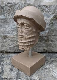 Assyrian Hammurabi Babylonian Statue Fragment Replica Etsy