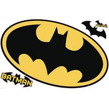 Batman Logo Dry Erase Peel And Stick Giant Wall Decals Walmart Com Walmart Com