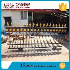 Hot Sale Modern Metal Fence Design For House Wrought Iron Fence Buy Metal Fence Small Fences For Gardens Philippines Gates And Fences Product On Alibaba Com
