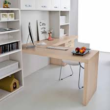 Wooden Desk Start Angolare Clever Contemporary Commercial With Shelf