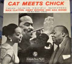 Buck Clayton, Jimmy Rushing And Ada Moore With Buck Clayton's ...