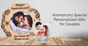 anniversary special personalised gifts