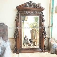 decorative wall mirror with heavy