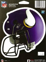 Amazon Com Nfl Officially Licensed Minnesota Vikings Die Cut Window Decal Sports Outdoors