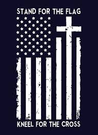 Stand For The Flag Kneel For The Cross Shirt Usa American Proud Boycott Nfl American Flag Wallpaper American Flag Decal American Flag Art