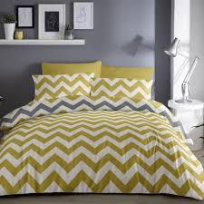 zig zag duvet quilt cover bedding set