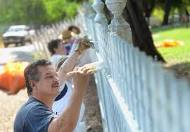 Volunteers clean up Mare Island Naval Cemetery as day of service