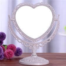 heart shaped mirror shaving bath