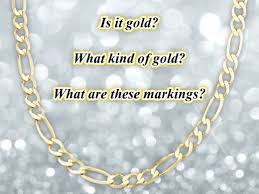 585 and 417 gold markings on jewelry