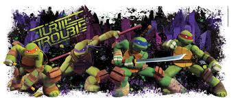 York Wallcoverings Teenage Mutant Ninja Turtles Giant Wall Decal