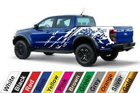 2x Ford Ranger Pickup Truck 51 Auto Vinyl Styling Vinyl Car Body Sticker Decal Ebay