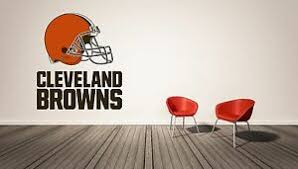 Cleveland Browns Nfl Wall Decal Sport Logo Nfl Vinyl Home Decor Room Ebay