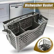 Lồng đựng dụng cụ ăn màu xám thiết kế 2 trong 1 dành cho máy rửa chén BOSCH  Maytag Whirpool LG