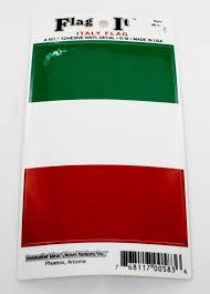 Italian Flag Car Decal Piccolo S Gastronomia Italiana