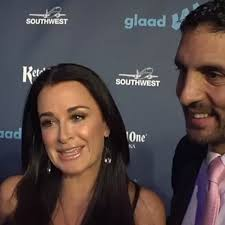 Kyle Richards and Josie Smith Malave at the GLAAD Media Awards 2013