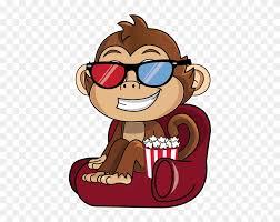 cute monkey stickers messages sticker gambar monyet lucu