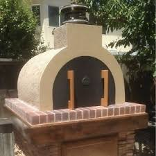 wood fired pizza oven diy outdoor