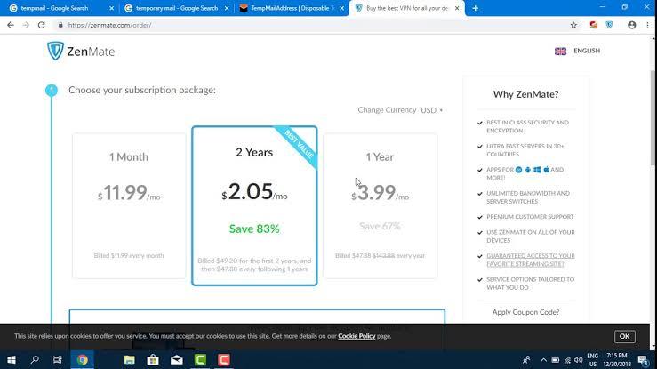 ZenMate VPN For Chrome crack
