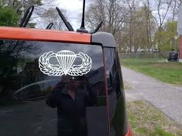 Us Army Airborne Wings Vinyl Decal Multiple Colors Etsy