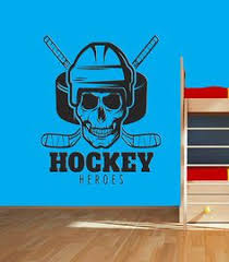 10 Best Ice Hockey Wall Decals Ice Hockey Wall Decor Personalized Hockey Decals Images Hockey Decals Wall Decals Ice Hockey