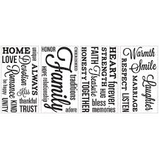 Roommates 5 In X 11 5 In Laundry Quote Peel And Stick Wall Decal Rmk2743scs The Home Depot